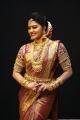 TV Serial Actress Rachitha Mahalakshmi Silk Saree HD Images