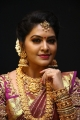 Tamil TV Actress Rachitha Mahalakshmi HD Images in Silk Saree