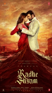 Prabhas, Pooja Hegde in Radhe Shyam First Look Posters HD