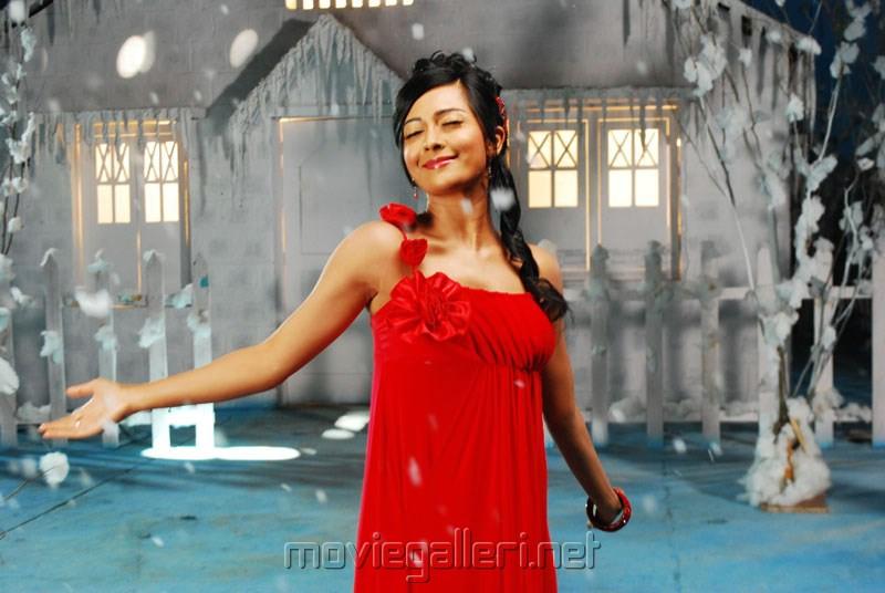 Telugu Actress Radhika Pandit Photos in Yuvakudu
