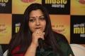 Actress Kushboo at Radio Mirchi Tamil Music Awards 2012 Press Meet Stills