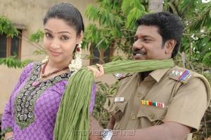 Actress Angana, Karunas in Ragalaipuram Movie Stills
