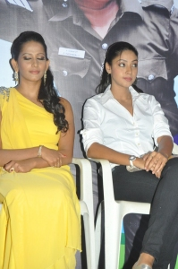 Sanjana Singh, Angana at Ragalaipuram Press Meet Stills