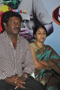 Karunas, Uma Padmanabhan at Ragalaipuram Press Meet Stills