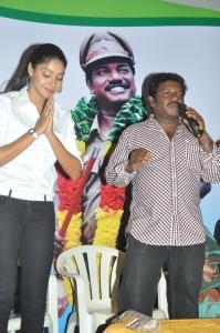 Angana, Karunas at Ragalaipuram Press Meet Stills