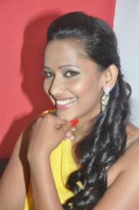 Actress Sanjana Singh at Ragalaipuram Press Meet Stills