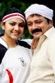 Samvritha Sunil, Jayaram in Rahasya Police Telugu Movie Stills