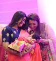 Actress Sneha @ Rahul Sridevi Vijayakumar Baby Rupikaa Naming Ceremony Photos