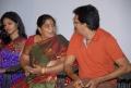 Krishna Maya, R Rama Radhika at Railway Station Audio Release Photos