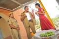 Banarjee, Sravani in Railway Station Telugu Movie Stills