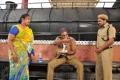 Allari Subhashini, Banarjee in Railway Station Movie Stills