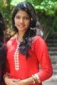 Telugu Actress Vaishnavi Stills at Railway Station Press Meet