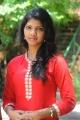 Telugu Heroine Vyshnavi Stills at Railway Station Press Meet