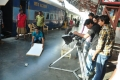 Director Krishna Maya at Railway Station Working Stills