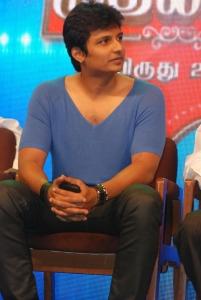 Actor Jeeva at Raj TV Mudhalvan Awards 2012 Event Photos