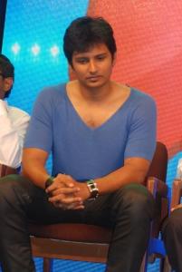 Actor Jiiva at Raj TV Mudhalvan Awards 2012 Event Stills