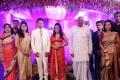 K.Rosaiah @ Actor Raja Amrita Vincent Wedding Reception Photos