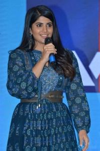 Actress Megha Akash @ Raja Raja Chora Pre Release Event Photos