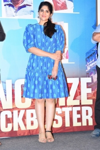 Actress Megha Akash @ Raja Raja Chora Success Celebration Photos