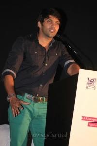 Actor Arya @ Raja Rani Audio Launch Stills