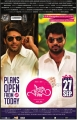 Arya, Jai in Raja Rani Movie Release Posters