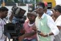 George.C.Williams, Atlee @ Raja Rani Shooting Spot Stills