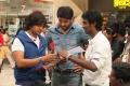 Santhanam, Arya, Atlee @ Raja Rani Shooting Spot Stills