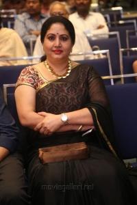 Actress Rajitha @ Raja The Great Success Meet Stills