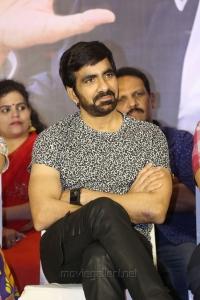 Actor Ravi Teja @ Raja The Great Success Meet Stills