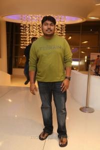 Music Director Sai Karthik @ Raja The Great Success Meet Stills