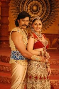 Prashanth, Pooja Chopra in Rajakota Rahasyam Movie Stills