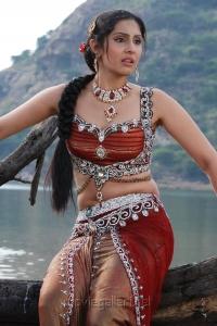 Actress Divya Parameshwaran Hot in Rajakota Rahasyam Telugu Movie Stills