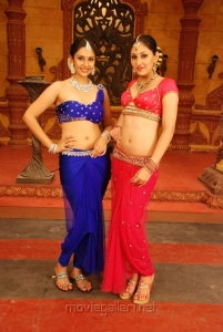 Divya Parameshwaran, Pooja Chopra in Rajakota Rahasyam Telugu Movie Stills