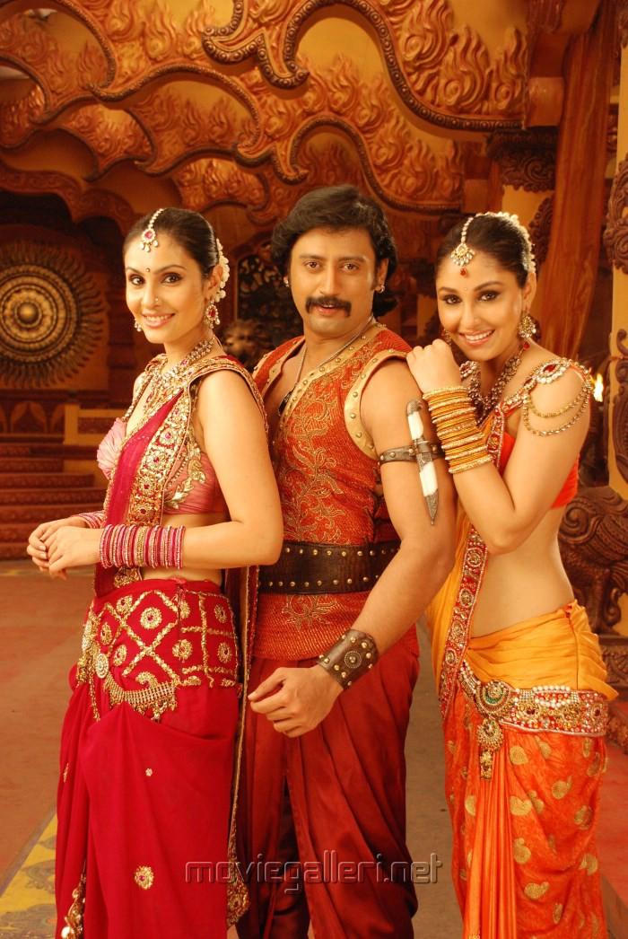 Divya Parameshwar, Prashanth, Pooja Chopra in Rajakota Rahasyam Telugu Movie Stills