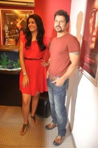 Deeksha Seth Vikram @ Rajapattai Press Show