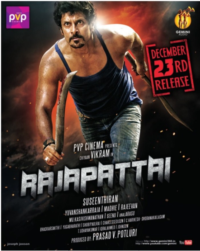 Rajapattai Movie Posters