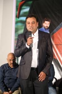 Producer Sathish Sastry @ Rajaratham Teaser Launch Stills