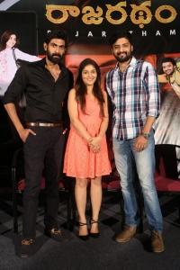 Rana Daggubati, Avantika Shetty, Nirup Bhandari @ Rajaratham Teaser Launch Stills