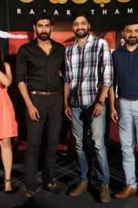 Rana Daggubati, Nirup Bhandari @ Rajaratham Teaser Launch Stills