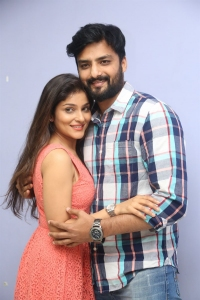 Avantika Shetty, Nirup Bhandari @ Rajaratham Teaser Launch Stills