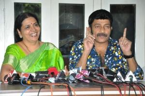Jeevitha Rajasekhar Press Meet Stills
