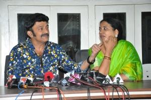 Rajasekhar Jeevitha Press Meet Stills