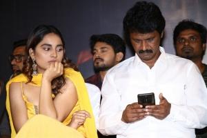 Srushti Dange, Cheran @ Rajavukku Check Movie Audio Launch Photos