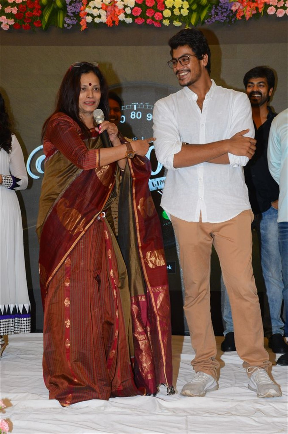 Disco Shanti, Meghamsh Srihari @ Rajdoot Movie Trailer Launch Stills