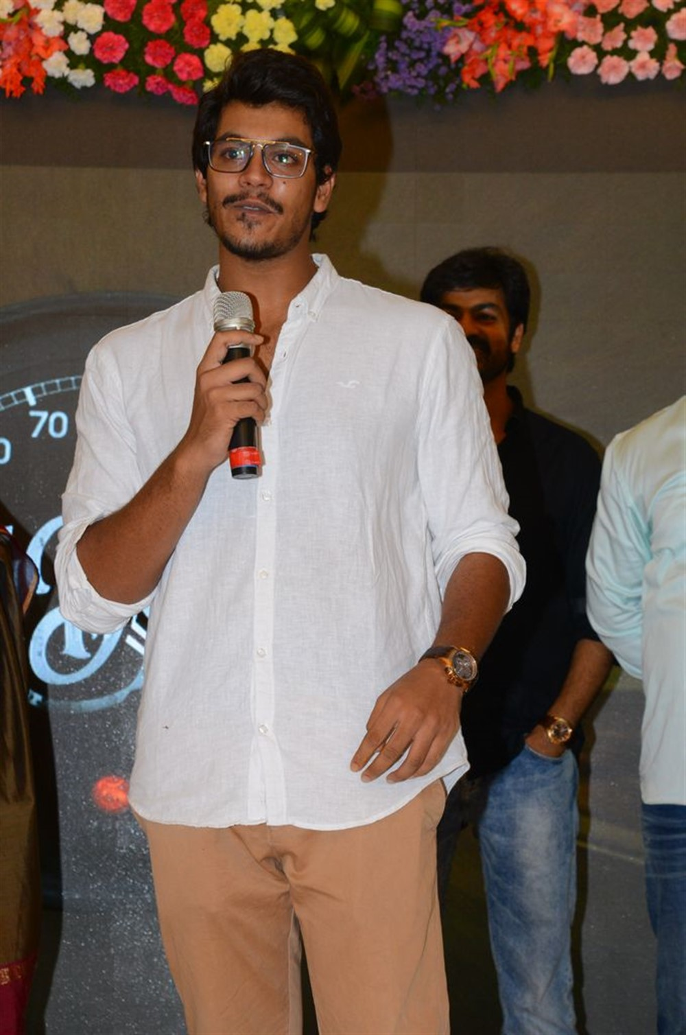 Actor Meghamsh Srihari @ Rajdoot Movie Trailer Launch Stills