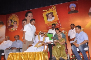 P.Chidambaram Book Launch Photos