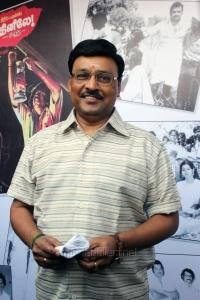 K.Bhagyaraj @ 16 Vayathinile Trailer Launch Photos