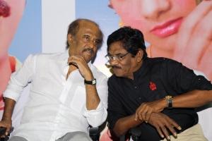 Rajini, Bharathiraja @ 16 Vayathinile Trailer Launch Photos