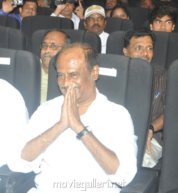 Actor Rajini at Kumki Audio Launch Function