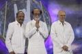 J Mahendran, Kalaignanam @ Rajinikanth Fans Meet Dec 26th Images